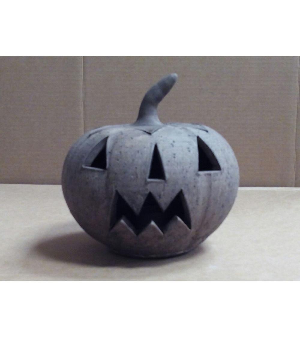 Calabaza rústica halloween 20x20 cm.
