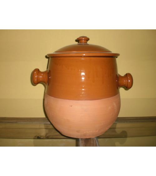 Olla para cocinar de 25 x 25 cm. con capacidad para 10 litros aprox.